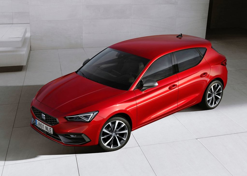 All New Seat Leon Red Colors 2020 Model Year