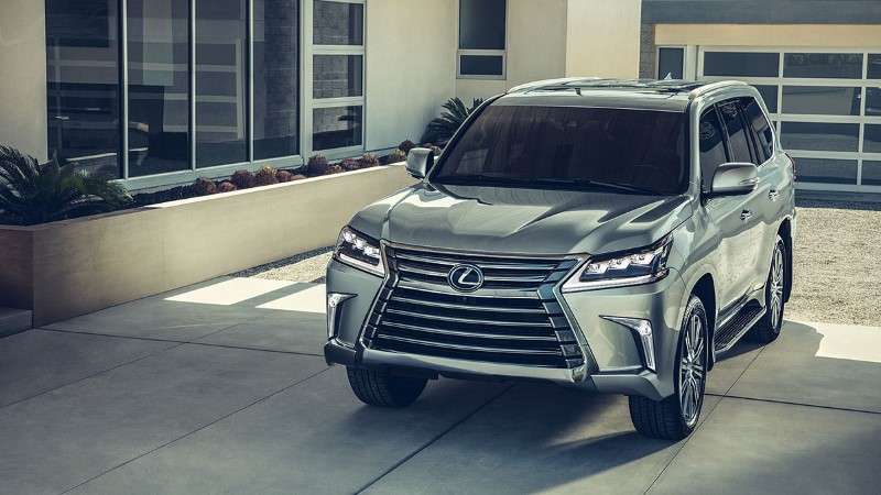 2021 Lexus LX 570 Silver Color Full-Size SUV