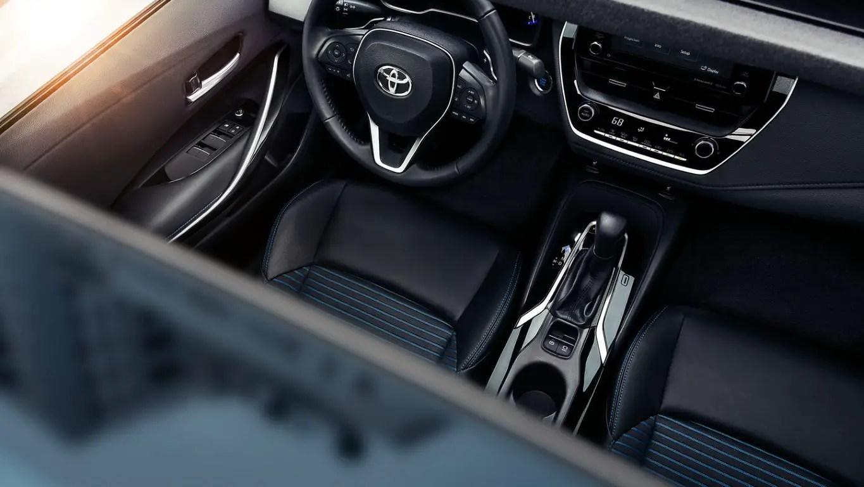 2021 Toyota Corolla Dashboard Images