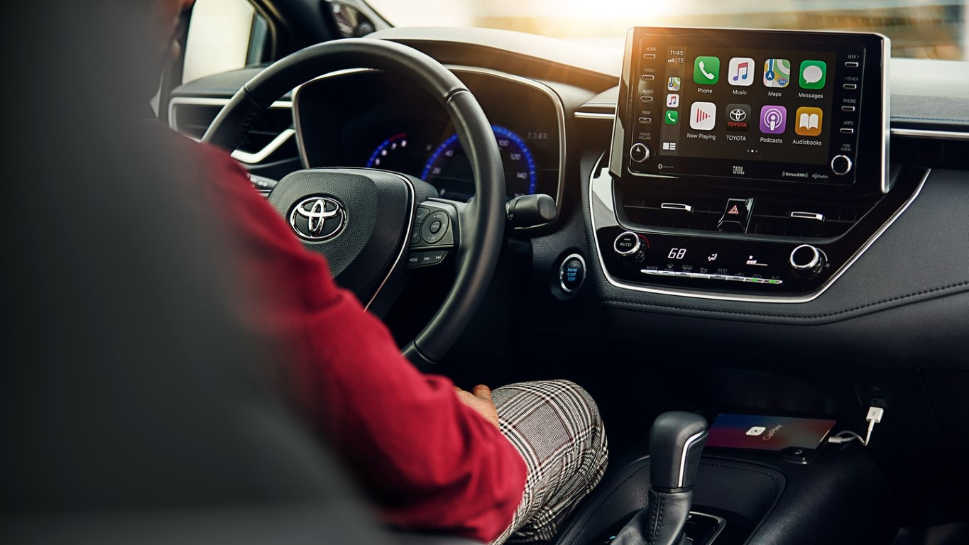 2021 Toyota Corolla New interior Features