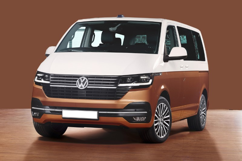 2021 Volkswagen Transpoter Design Base on Id Buzz