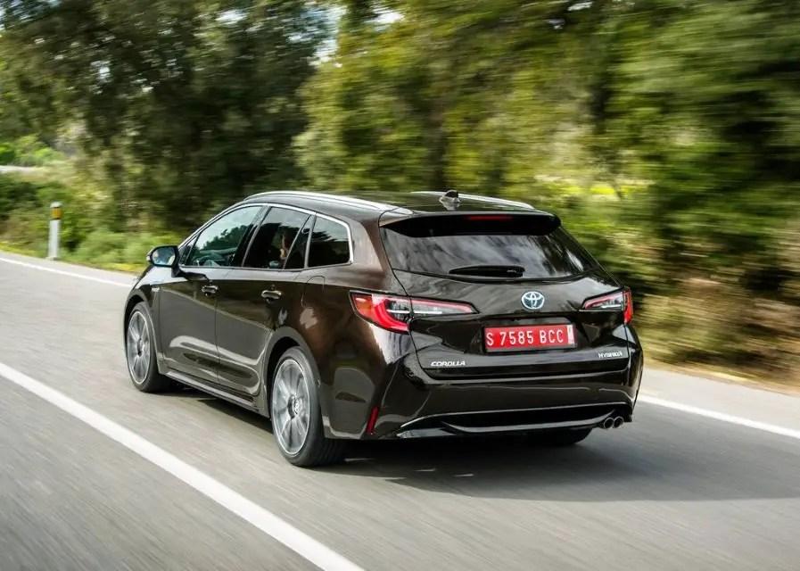 2020 Toyota Corolla Touring Sports Fuel Economy
