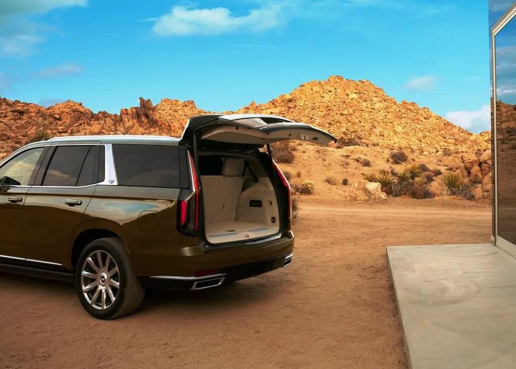 2021 Cadillac Escalade Trunk Capacity