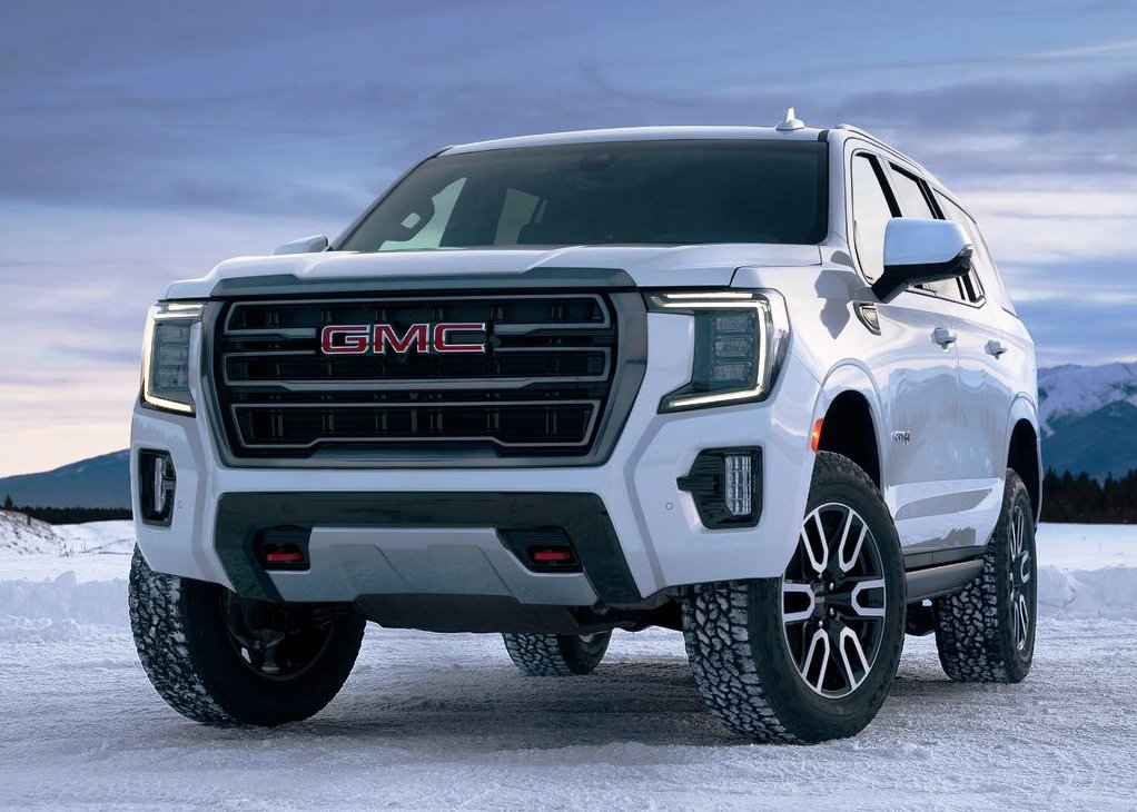 2021 GMC Yukon AT4 Full Size SUV review