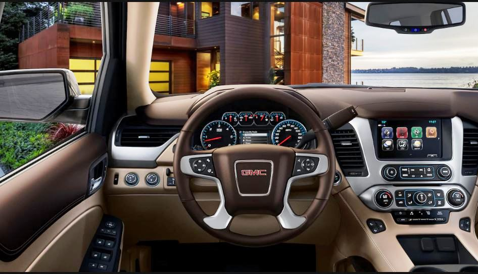 2021 GMC Yukon Dashboard Changes and Updates