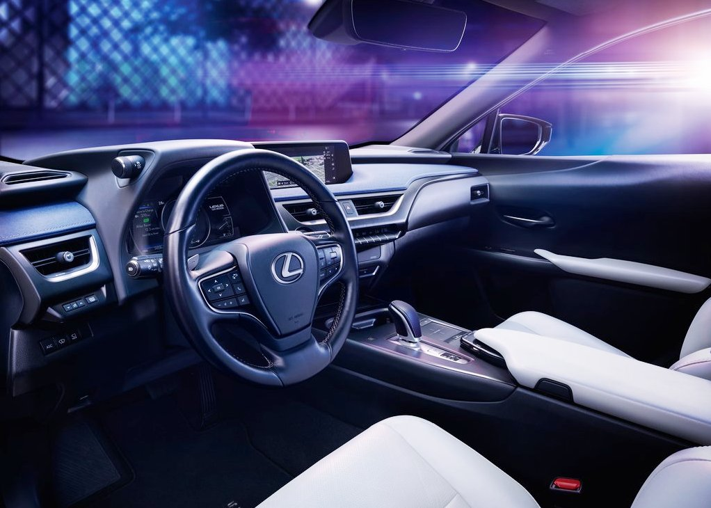 2021 Lexus UX 300e Interior With Plenty of Features