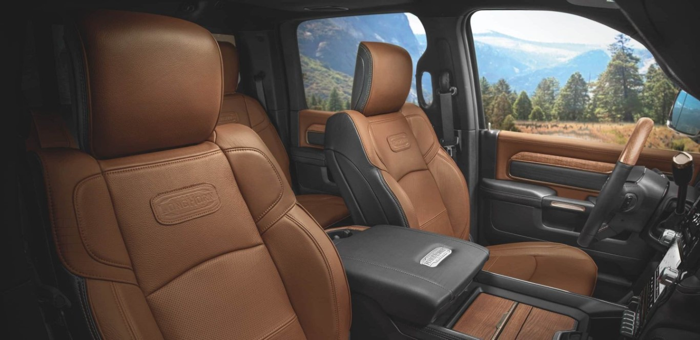 2021 RAM 3500 Interior Leather Seat