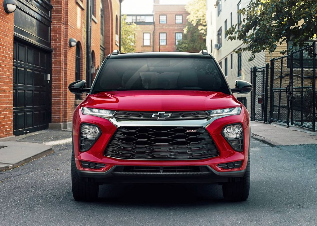 2021 Chevrolet Trailblazer Front Angle