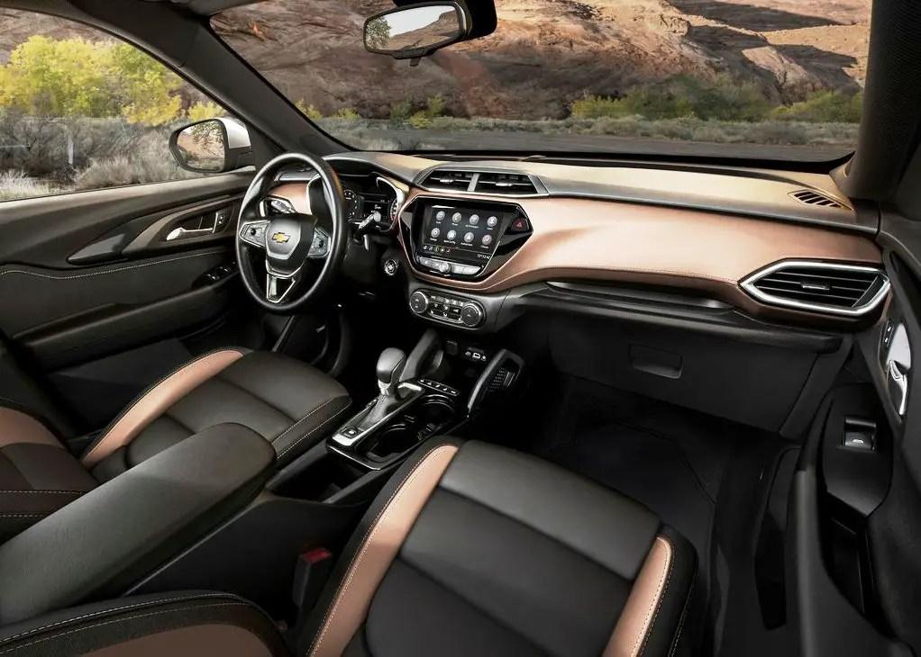 2021 Chevrolet Trailblazer Interior Features