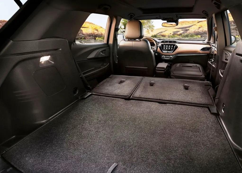 2021 Chevrolet Trailblazer Seating Configuration & Volume