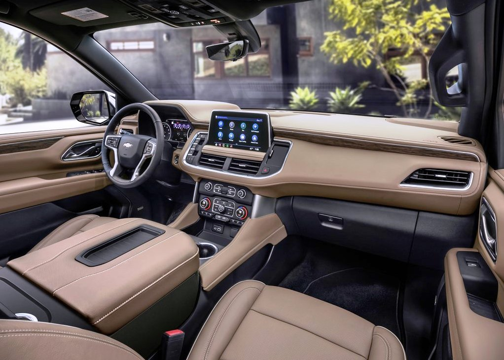 2021 Chevy Suburban Safety Interior Features