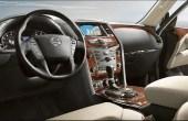 2021 Nissan Patrol Interior Dashboard