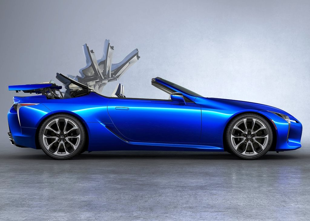 2021 Lexus LC 500 Convertible Pictures