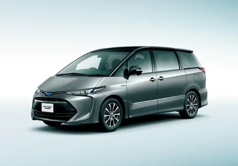 2021 Toyota Estima Dimensions