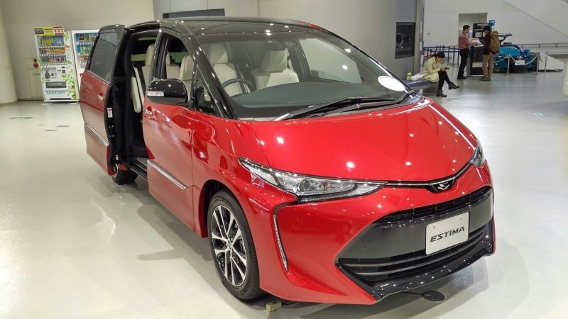 2021 Toyota Estima Redesign & Changes