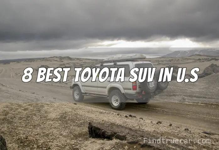 Best Toyota SUV - Land Cruiser Off-Road