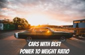 Cars with Best Power to Weight Ratio - Dodge Charger