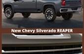 2021 Chevy Silverado Reaper Engine Specs