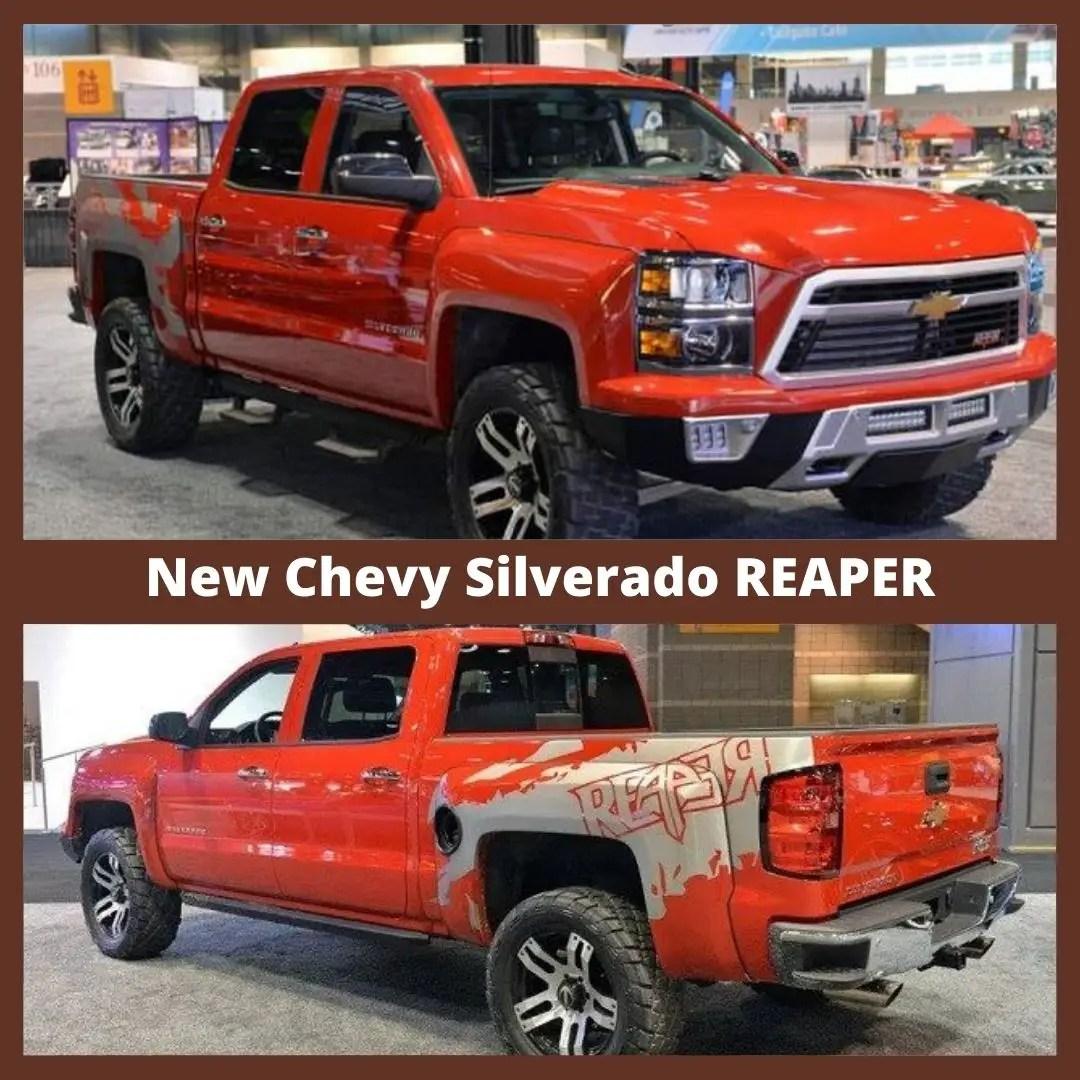 2021 Chevy Silverado Reaper VS Raptor