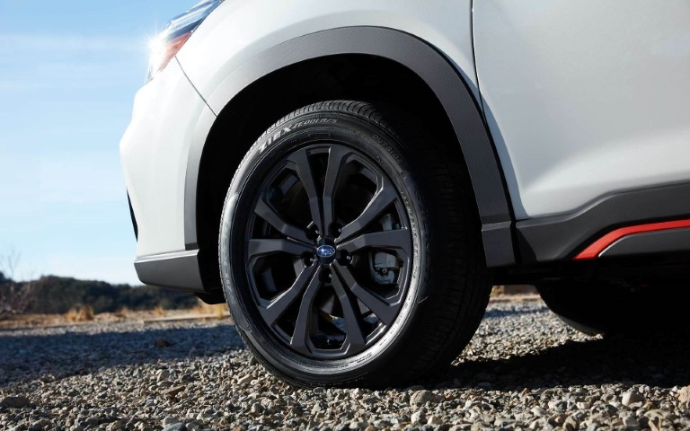 2021 Subaru Forester Sport with 18 -inch Black Alloy Wheels