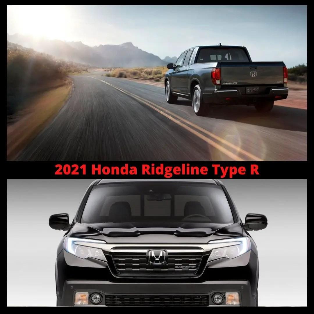 2021 Honda Ridgeline Type R Pictures