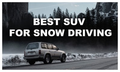 Read more about the article 8-Best SUV for Snow | The Right Car For Snow & Ice Driving