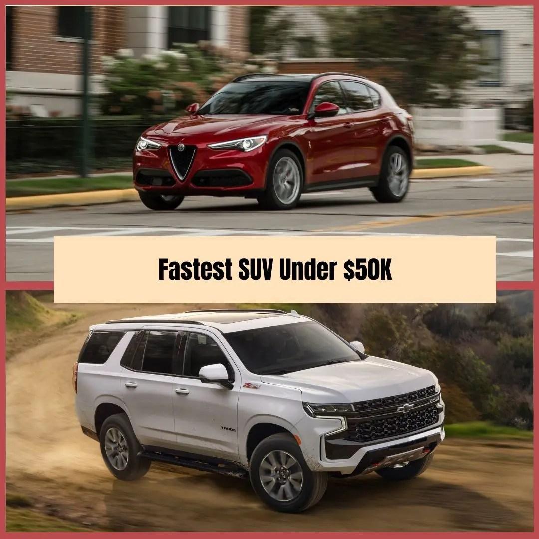 Fastest Crossover under $50000