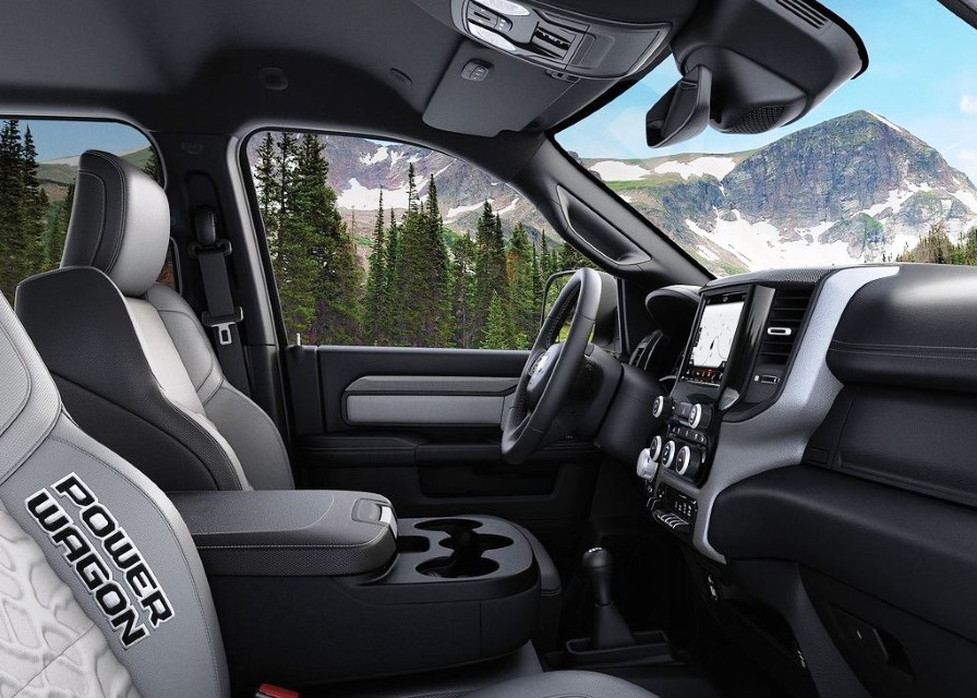 2021 Ram Macho Power Wagon Interior Photos
