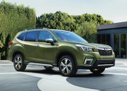 Subaru Forester Is SUV with Best Visibility