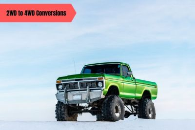 Read more about the article 2WD to 4WD Conversions: 13 Things You Should Know
