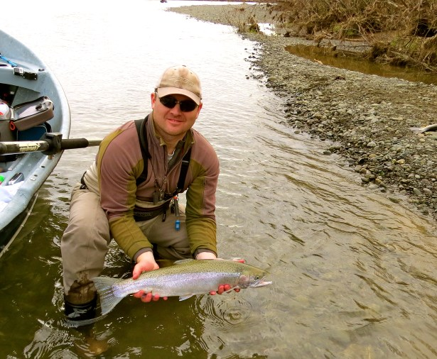 Rich the son with Steelhead