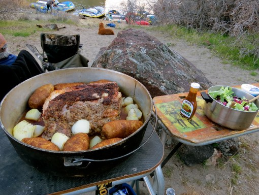 Prime Rib in a Dutch Oven by Aaron Helfrich
