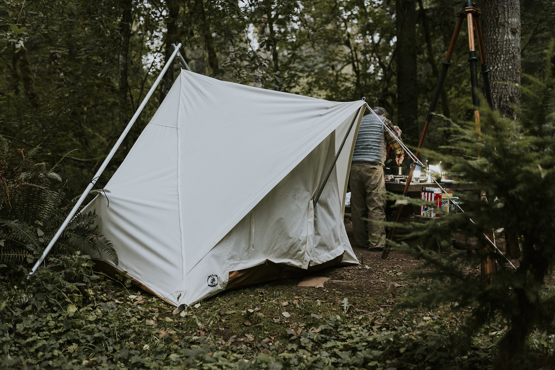 Canvas Tents in the Willamette National Forest & Find Your Parku2026 u2013 in a WoodenBoat