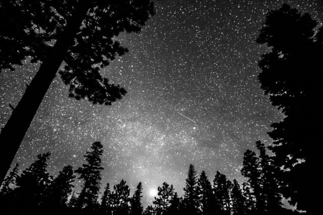 Dark Stellar Universe Wall Art Print