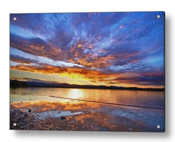 Peaceful Reflections Acrylic Art Print