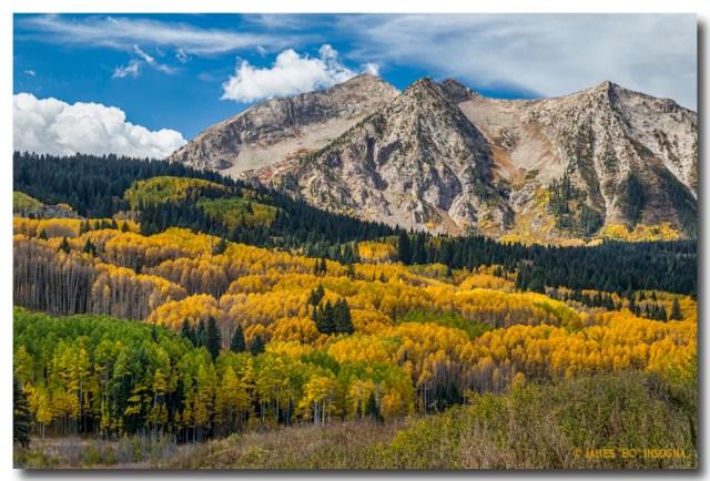Rocky Mountain Autumn Season Colors