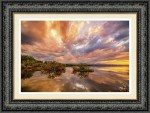 Colorado Lake Of Dreams Framed Art Print