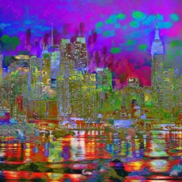 City Impressionism Landscape