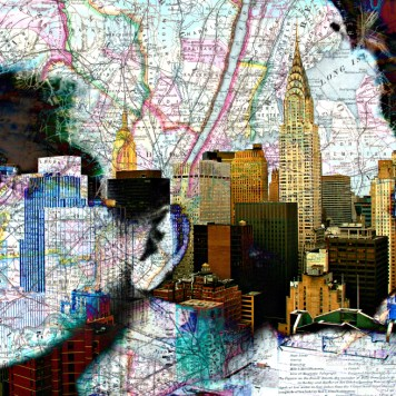 Art Print, Manhattan Maiden