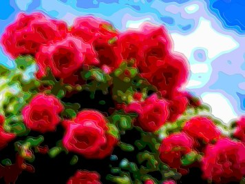 Flower Art Sale Red Roses