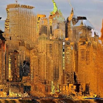 Digital Impressionism City Art