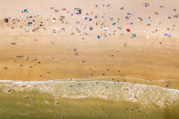 Beach Life-Aerial Artwork