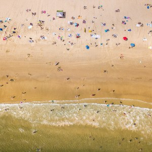 Beach Life-Aerial Artwork