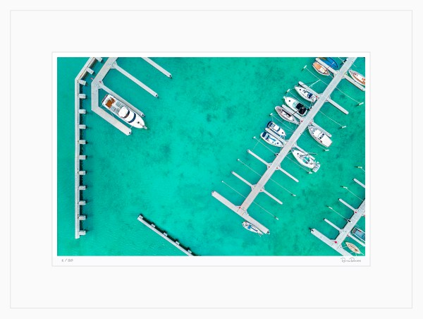 Blairgowrie Marina - Limited Edition - Aerial Artwork
