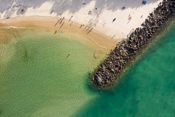 Clear Waters - Aerial Artwork