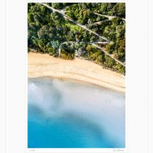 Coast Track - Limited Edition - Aerial Artwork