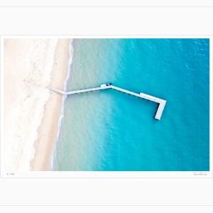 Collins Bay Portsea - Limited Edition - Aerial Artwork