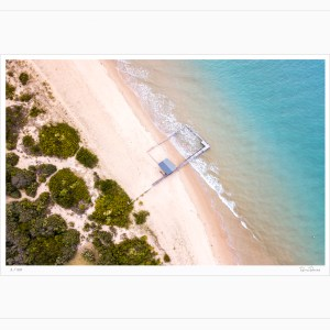 Portsea Boat House - Limited Edition - Aerial Artwork