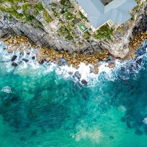 Queenscliff Point - Aerial Artwork