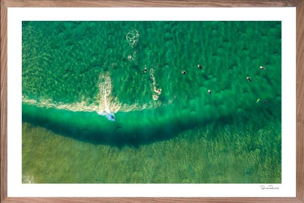 Surf's Up - Aerial Artwork